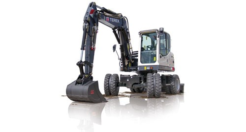 Terex Corporation - TW85 Wheeled Excavators