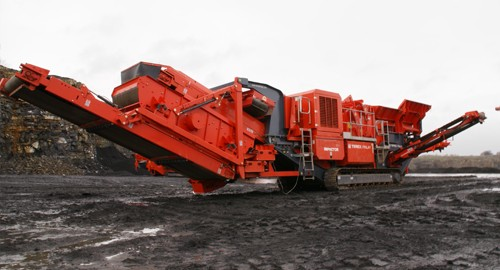 Terex® Finlay I-110RS Track Mounted Impact Crushers