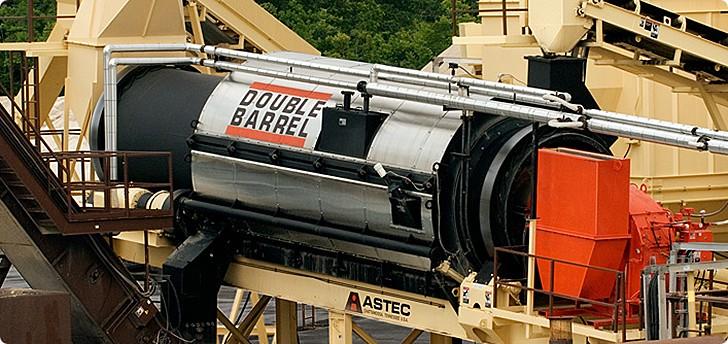 Astec Industries, Inc. - DOUBLE BARREL® Generators