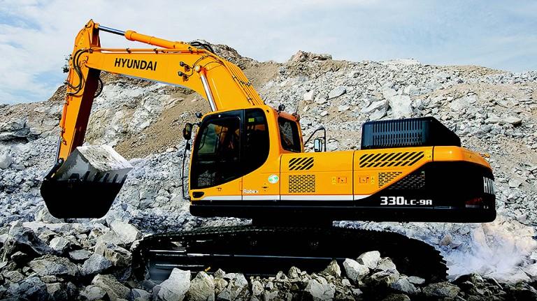R330LC-9A Excavators