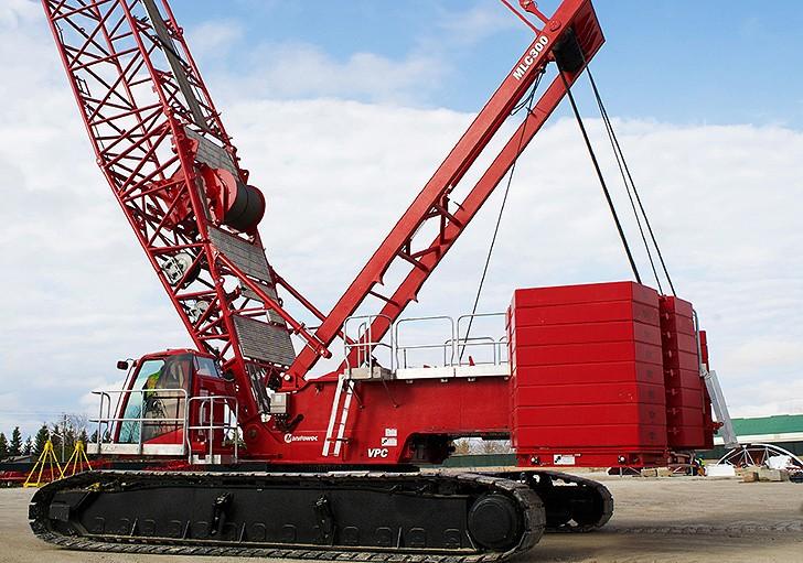 Manitowoc Company, Inc - MLC300 Crawler Cranes