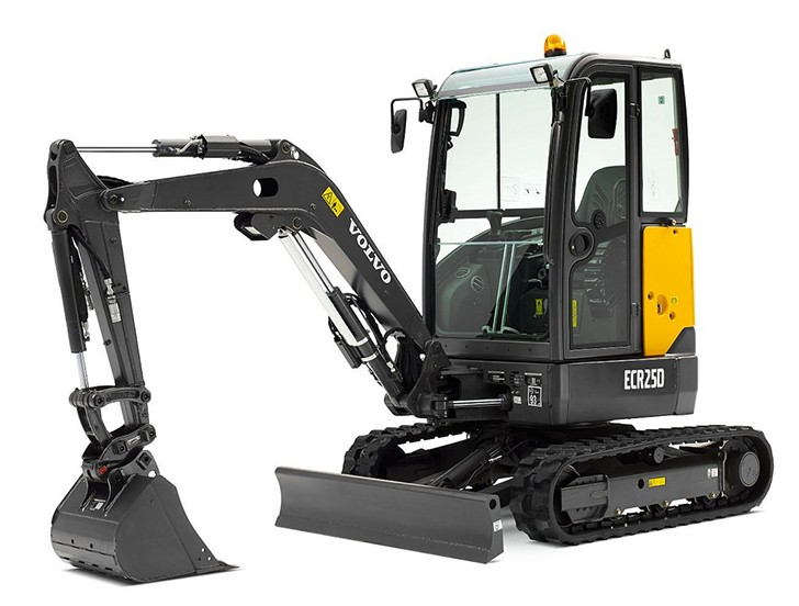 Volvo Construction Equipment - ECR25D Compact Excavators