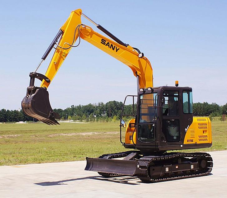 SY75C Excavators
