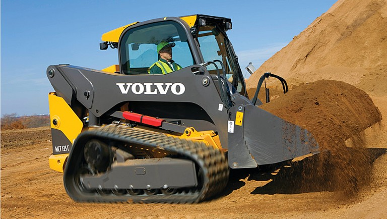 Volvo Construction Equipment - MCT135C Compact Track Loaders