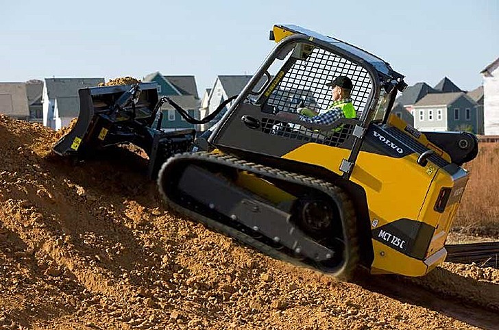 MCT125C Compact Track Loaders