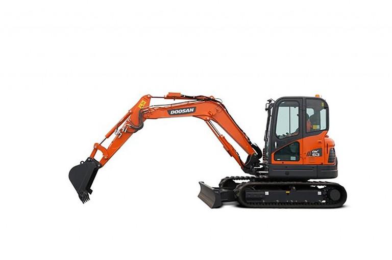 DX63-3 Excavators