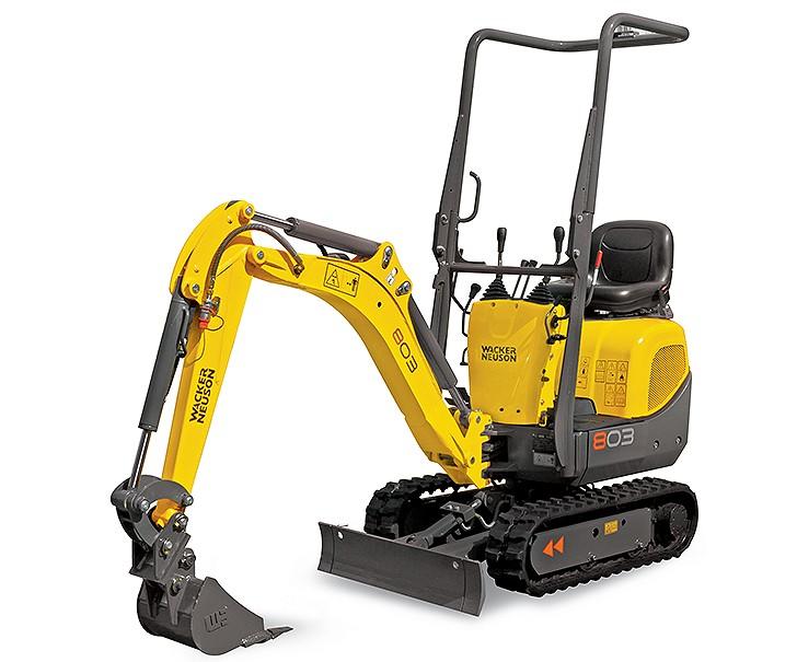 803 dual power Excavators