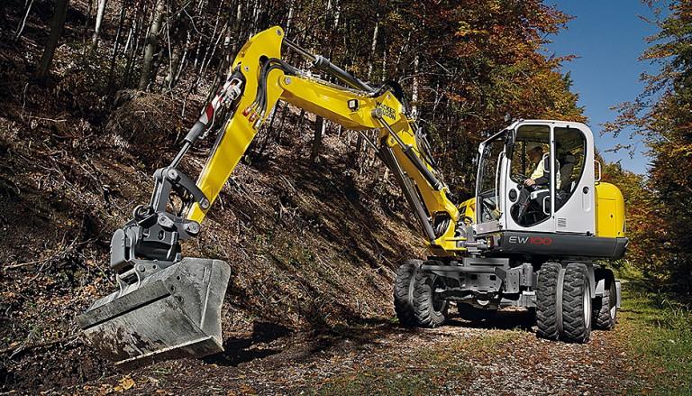 EW 100 Excavators