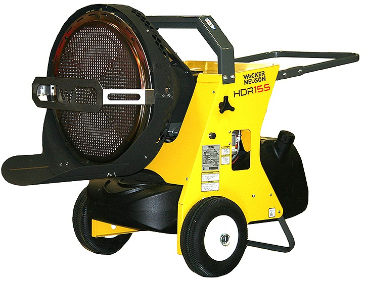 Wacker Neuson Corporation - HDR 155 Portable Heaters