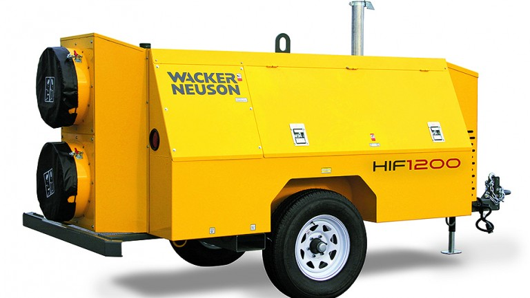 Wacker Neuson Corporation - HIF 1200 Portable Heaters