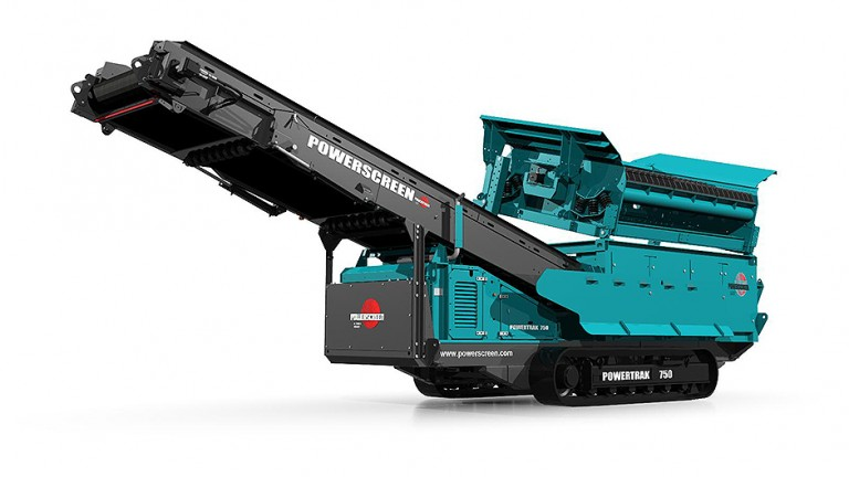 Powerscreen - Powertrak 750 Mobile Screens
