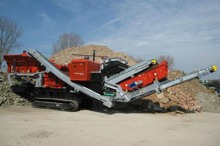 Remax 1312 Eco / Maxi Impact Crusher Track Mounted Impact Crushers