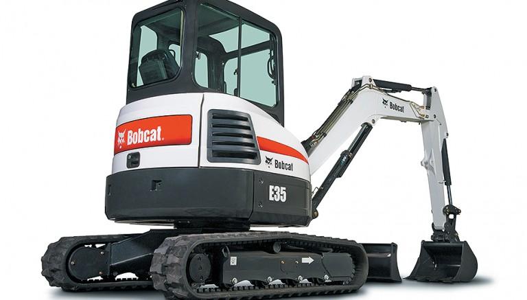 E35 Excavators