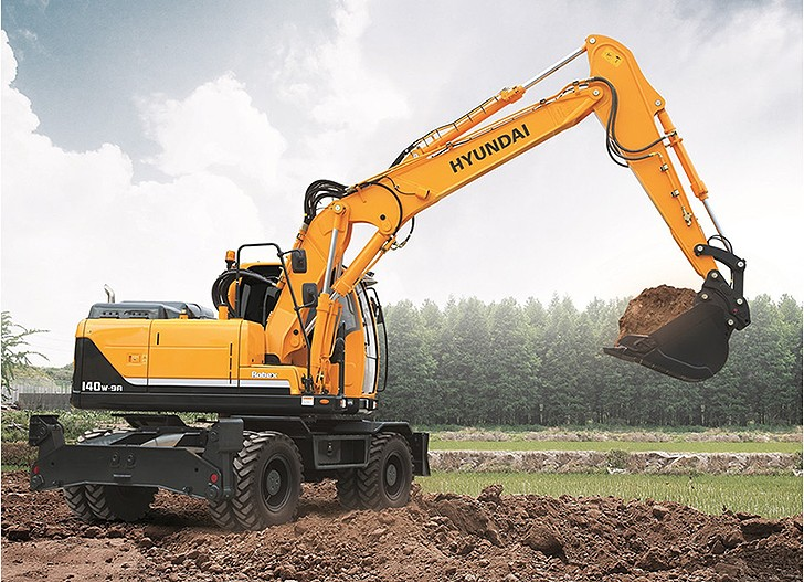 Hyundai Construction Equipment Americas Inc. - R140W-9A Excavators