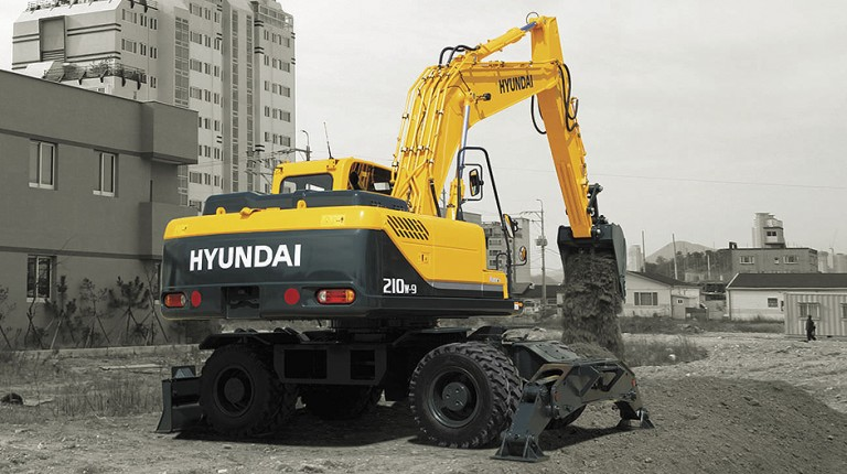 R210W-9A Excavators