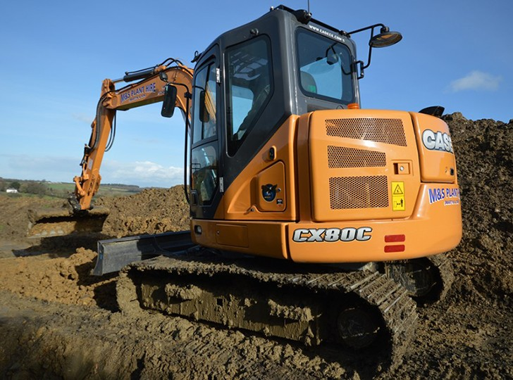 CX80C Excavators