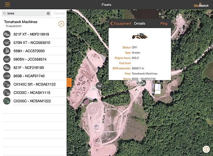 Case Construction Equipment - SiteWatch™ Excavators