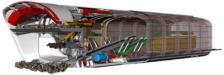 MH Box Machine Tunnel Boring Machines