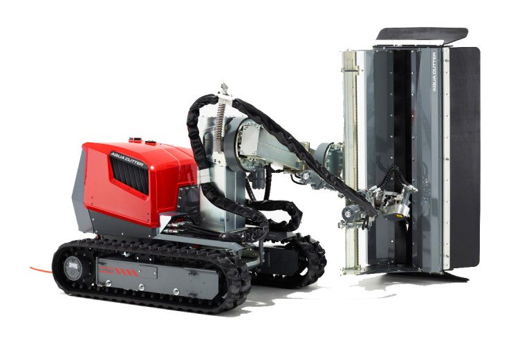 Aquajet Systems - Aqua Cutter 410A Hydro Demolition Robots