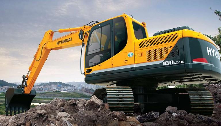 R160LC-9A Excavators