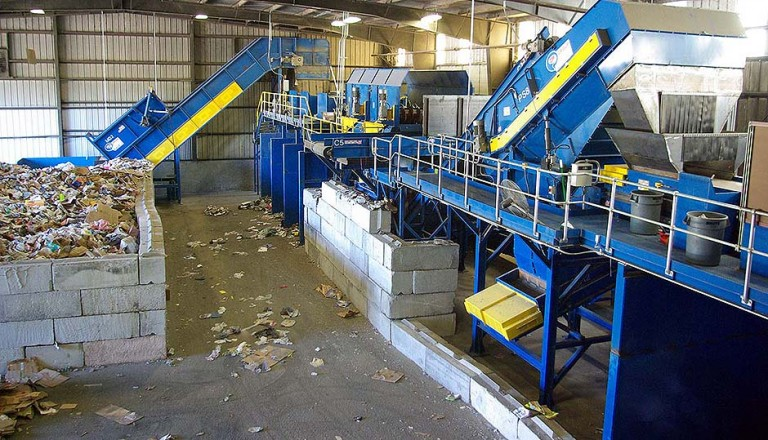 McMRF Recycling Sorting Systems