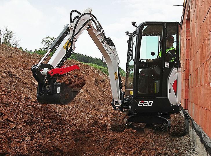 Bobcat® E20 - Bobcat Company - Heavy Equipment Guide