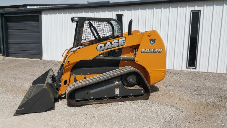 Case Construction Equipment - TR320 Compact Track Loaders