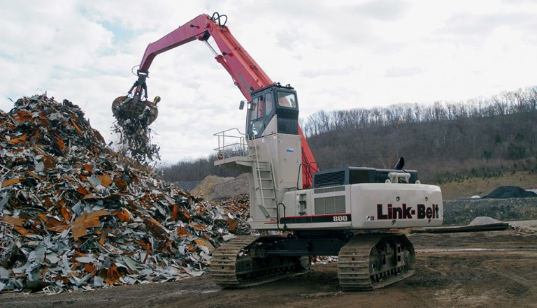 Link-Belt Construction Equipment Company - 800 X2 Material Handlers