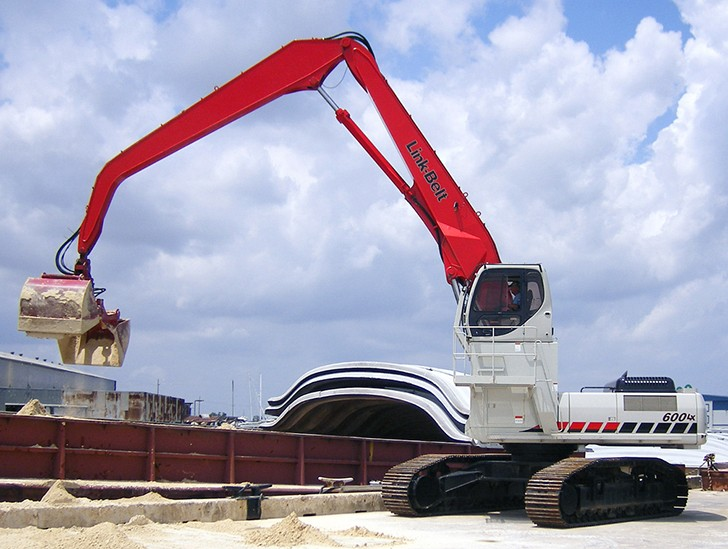 Link-Belt Construction Equipment Company - 600 LX MH Material Handlers