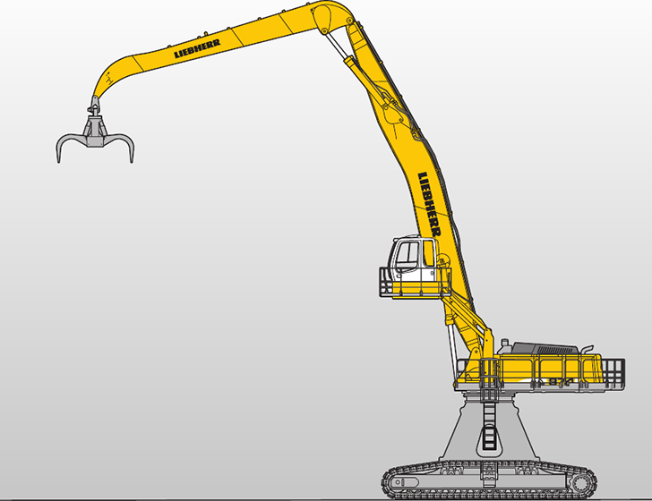 R 974 C Litronic High Rise Material Handlers