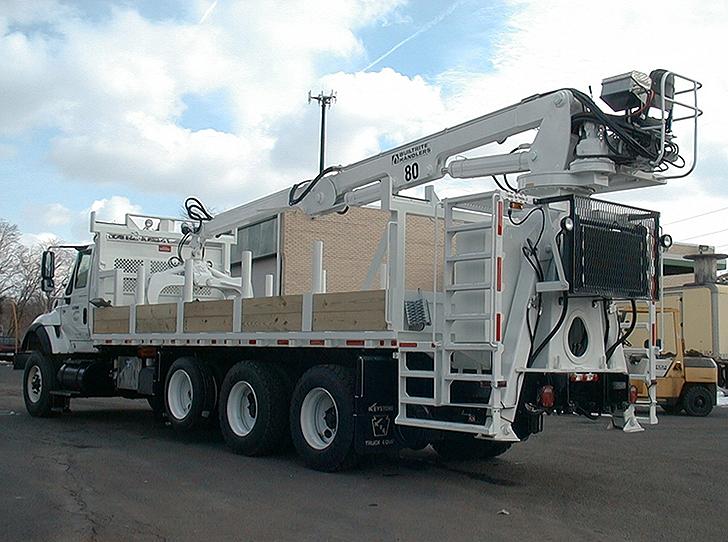 Builtrite Manufacturing - 80-TM Material Handlers