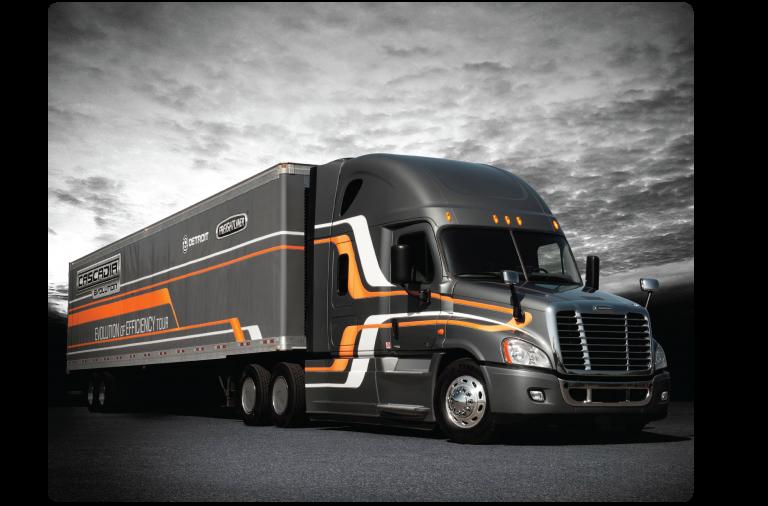 Cascadia Evolution - Freightliner Trucks - Heavy Equipment Guide