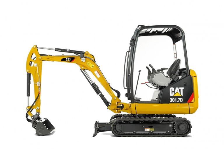 Caterpillar Inc. - 301.7D Compact Excavators