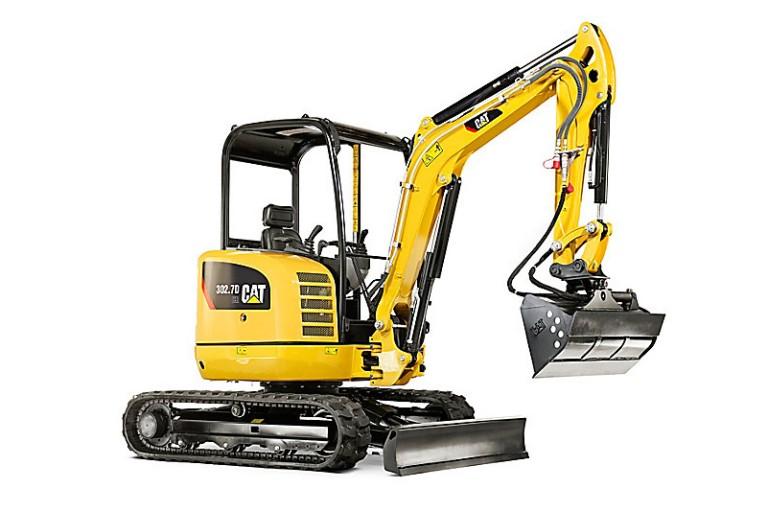 Caterpillar Inc. - 302.7D CR Compact Excavators