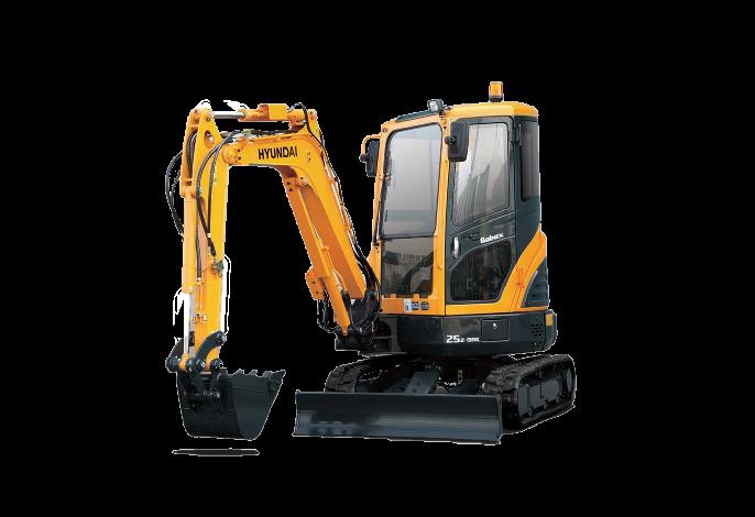 R25Z-9AK Excavators