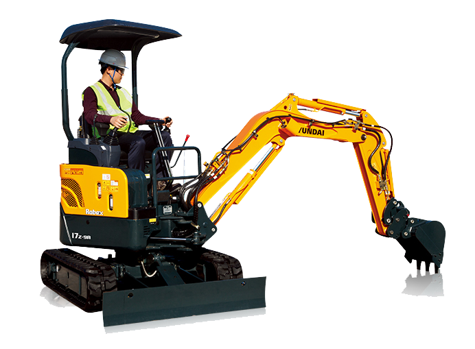 R17Z-9A Excavators