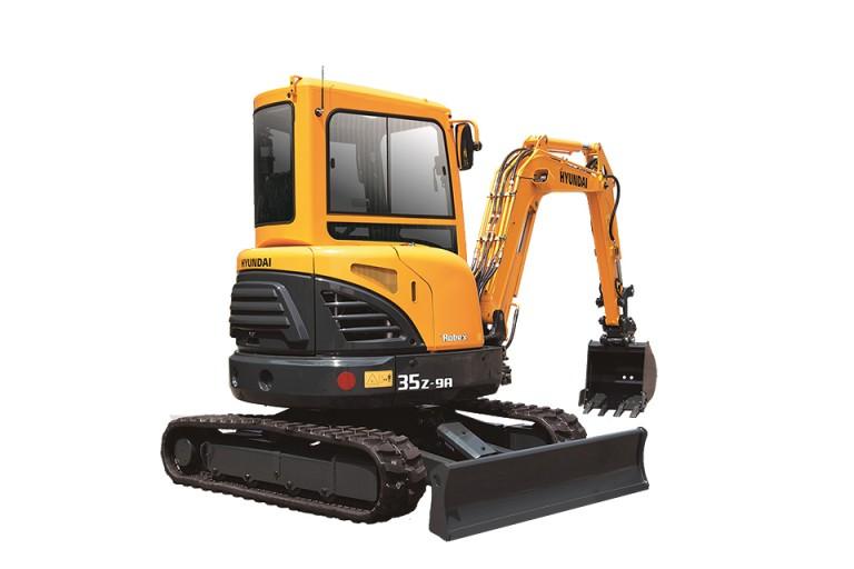 Hyundai Construction Equipment Americas Inc. - R35Z-9A Compact Excavators