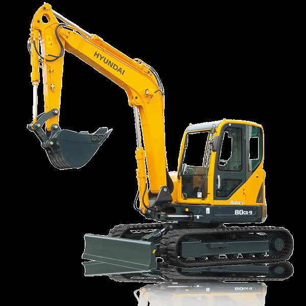 R80CR-9 Excavators