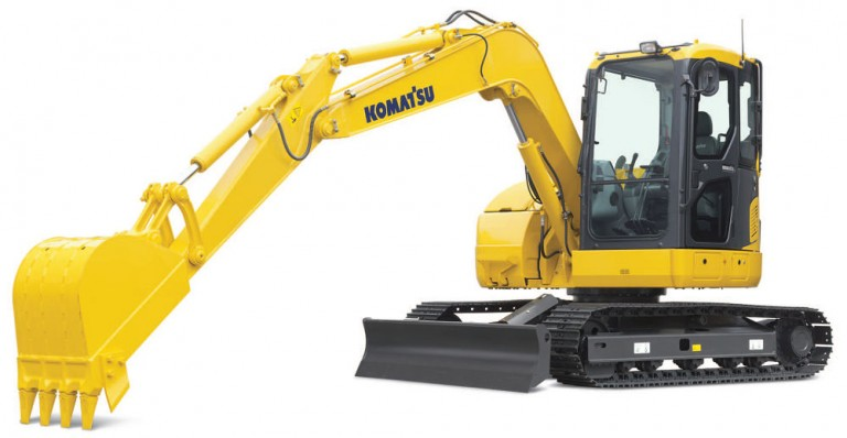 Komatsu America Corp. - PC78US-8 Excavators
