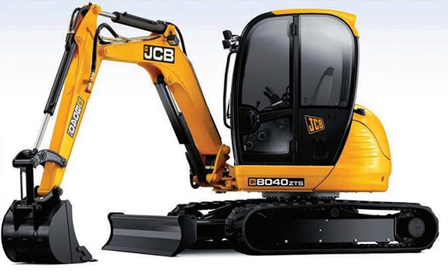 8040 ZTS Excavators