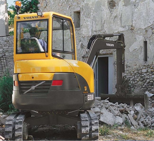 ECR38 Excavators