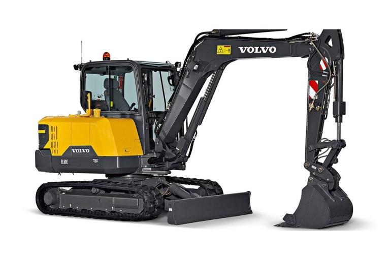 Volvo Construction Equipment - EC60E Compact Excavators