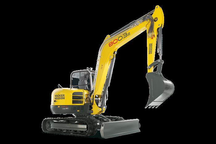 8003 Excavators