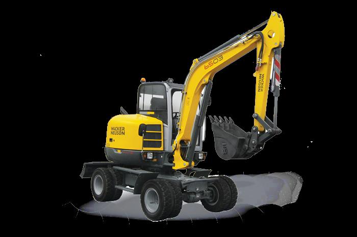 6503 Excavators