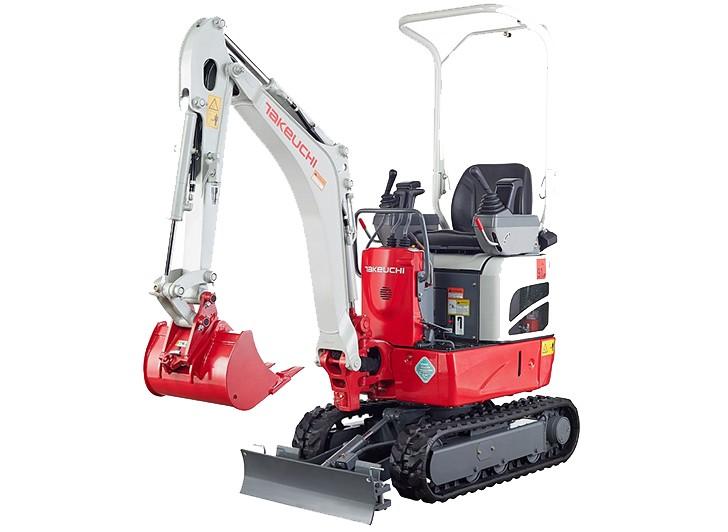 TB210R - Takeuchi - Heavy Equipment Guide
