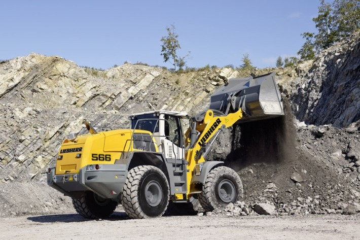 L 566 Wheel Loaders