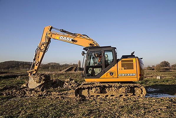 Case Construction Equipment - CX130D Excavators