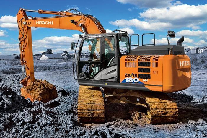 Hitachi Construction Machinery Co. - ZX180LC-6 Excavators
