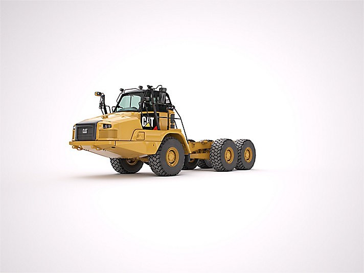 OEM 730C Bare Chassis Articulated Dump Trucks