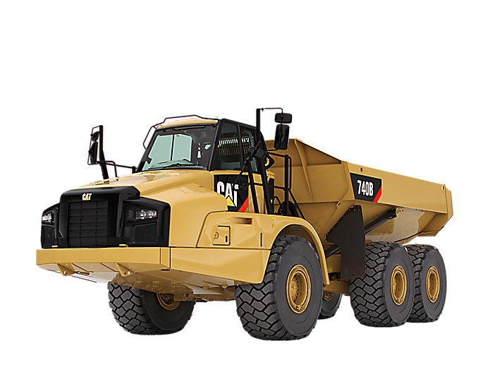 740B Bare Chassis Articulated Dump Trucks